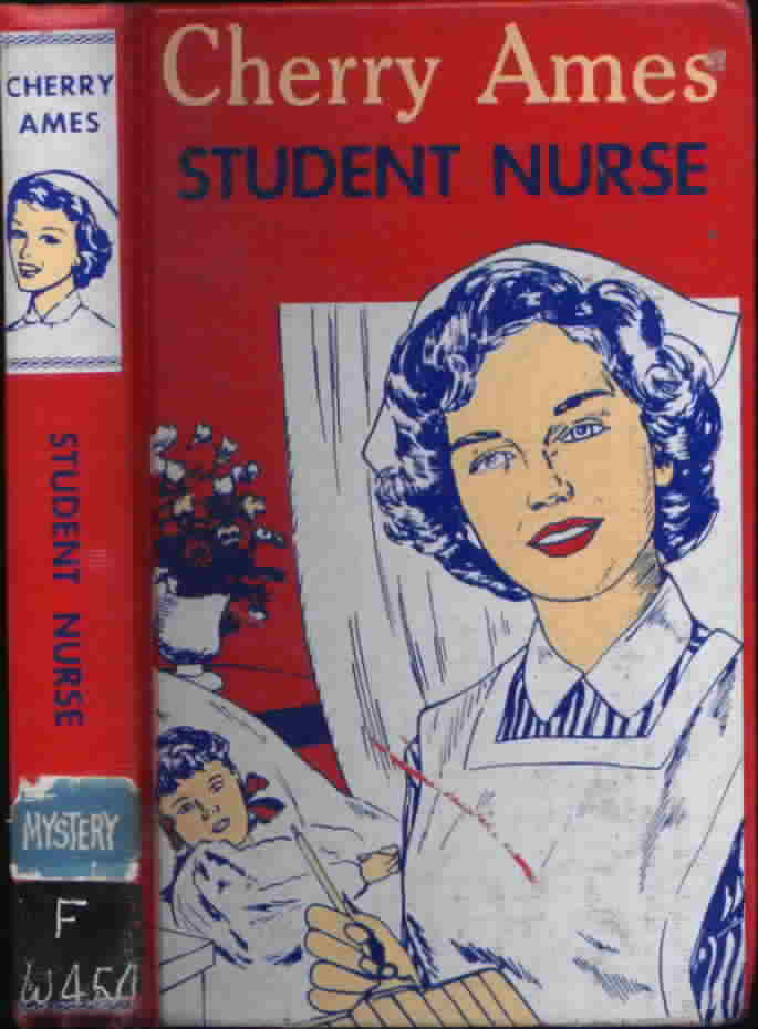 Cherry Ames #19, Camp Nurse, Helen Wells, DJ, Early Edition