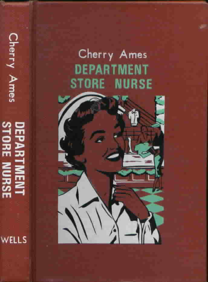 Cherry Ames #11 Night Supervisor Julie Tatham 1952 Edition VG+-NF/VG+