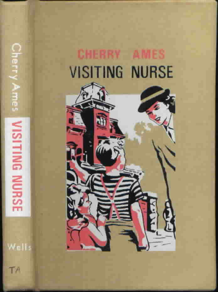 Cherry Ames #11 Night Supervisor Julie Tatham 1952 Edition VG+-NF/VG+