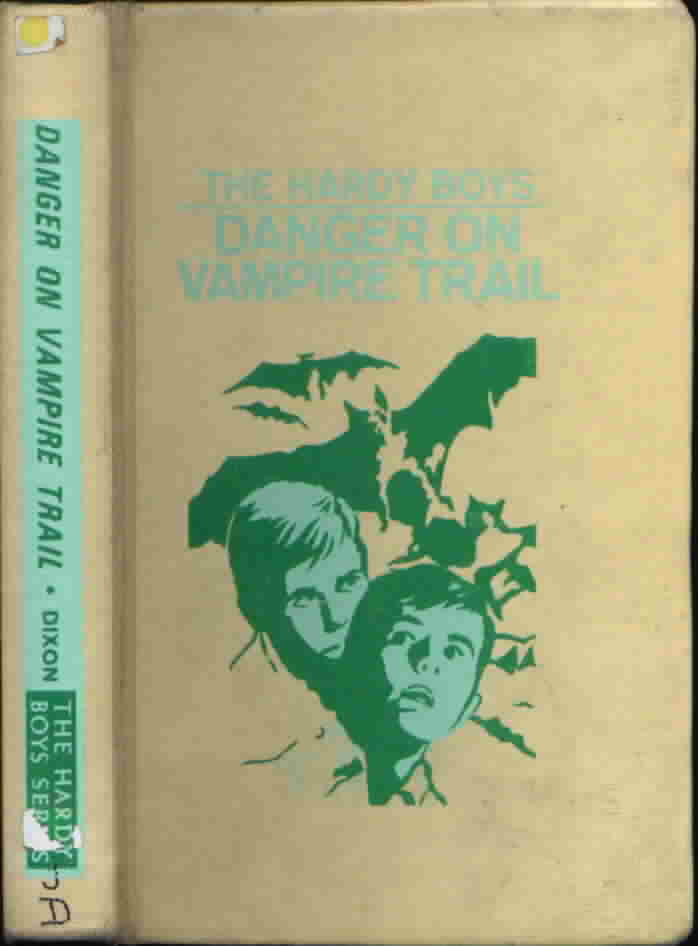 DANGER ON VAMPIRE TRAIL by Franklin Dixon #50 Vintage Hardy Boys Book 1971