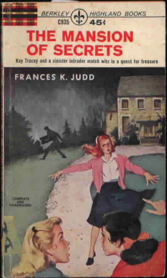 Kay Tracey. The Mansion Of Secrets.  Near Mint Condition. 1951. Francis K. Judd